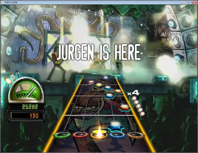 Thème Guitar Hero World Tour 5Gameplay