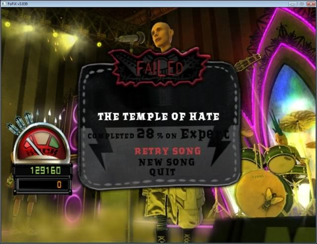 Thème Guitar Hero World Tour 6Failed