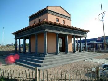 Nehalennia Tempel Colijnsplaat (NLse Godin) Nehalenniatempel