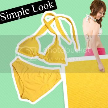Brand New Clothin and BBcream for sales Bikini_yellow