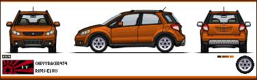 Suzuki 2007SuzukiSX4crossover