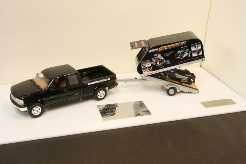 Chevy truck with Russian snowmobile trailer (commission build) IMG_9058_zps10ca2a9b