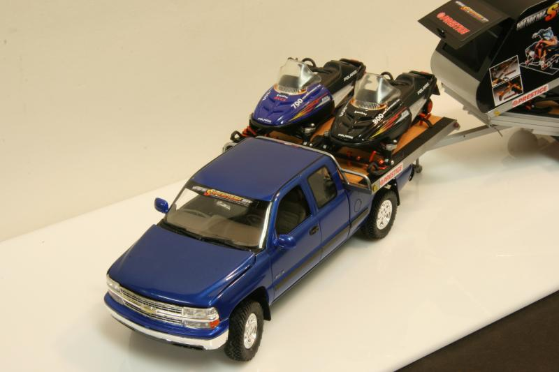 Chevy truck with Russian snowmobile trailer (commission build) IMG_9069_zps56473716