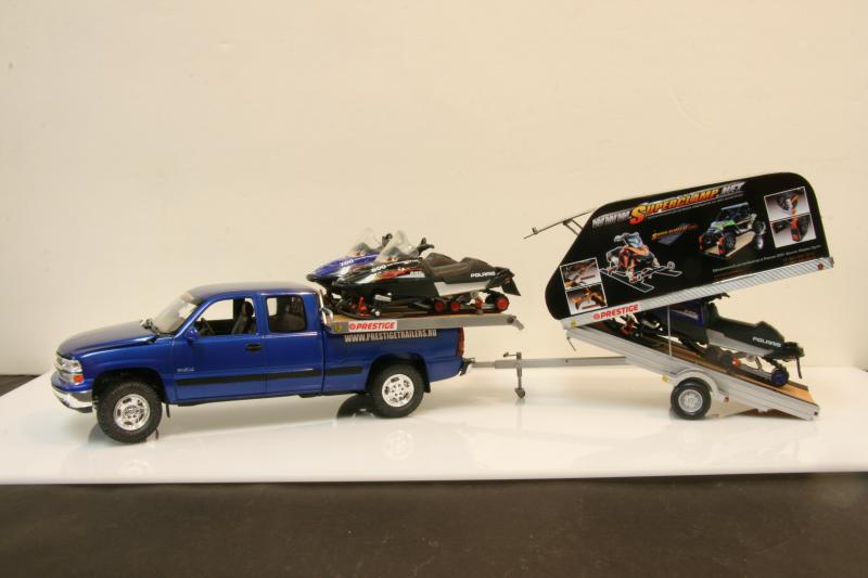 Chevy truck with Russian snowmobile trailer (commission build) IMG_9072_zps2df0b510