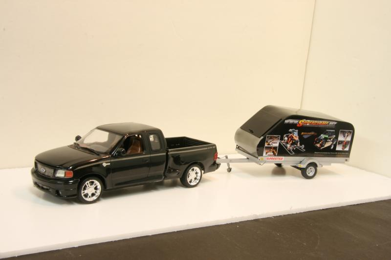 Chevy truck with Russian snowmobile trailer (commission build) IMG_9077_zpse7c2c667
