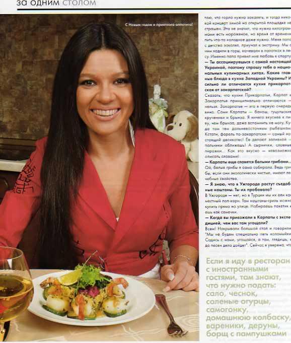 Ruslana en casa Magazin9