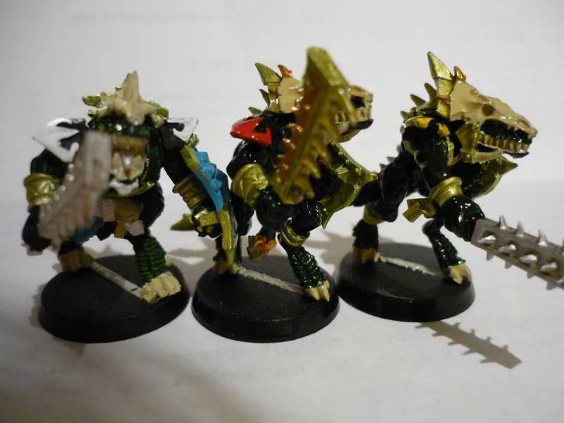 lizardmen - MyLittlePwny's Undead and Lizardmen (Pic Heavy) P1000075