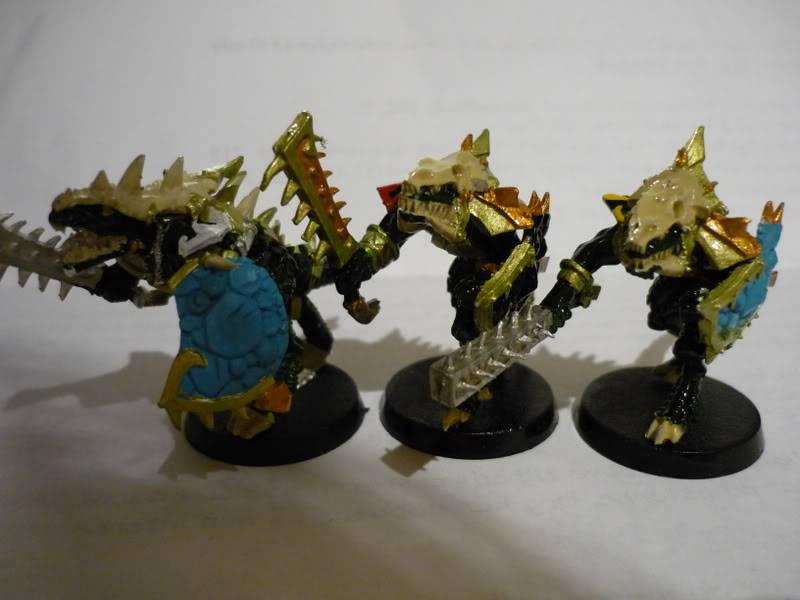 lizardmen - MyLittlePwny's Undead and Lizardmen (Pic Heavy) P1000076