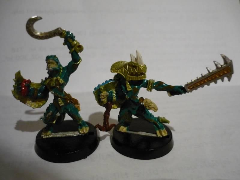 lizardmen - MyLittlePwny's Undead and Lizardmen (Pic Heavy) P1000078