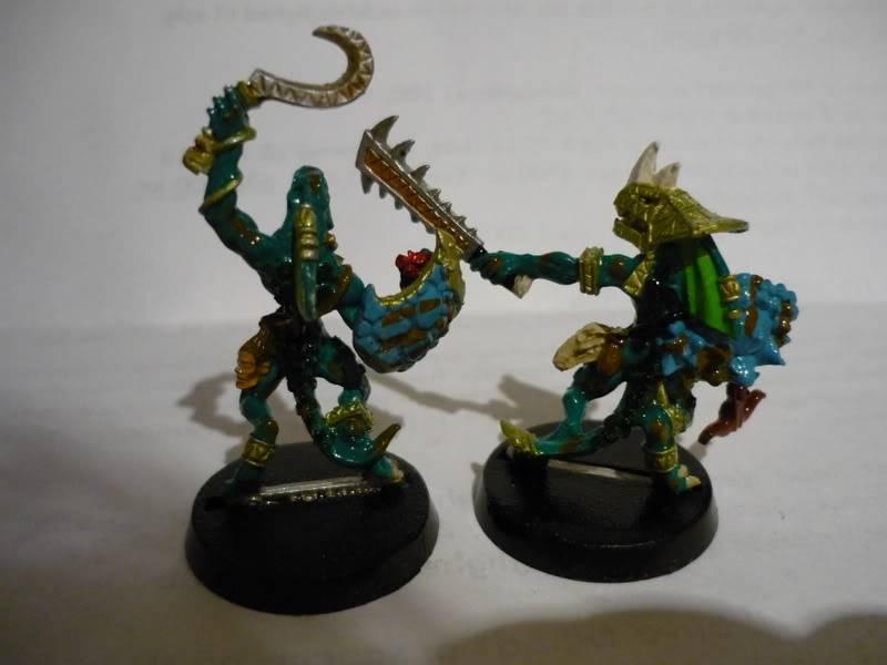 lizardmen - MyLittlePwny's Undead and Lizardmen (Pic Heavy) P1000079