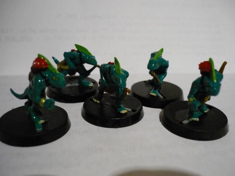 lizardmen - MyLittlePwny's Undead and Lizardmen (Pic Heavy) P1000080