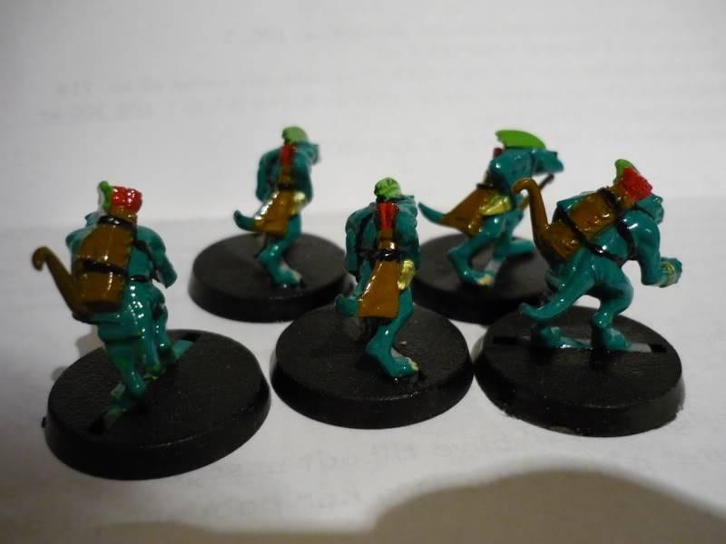 lizardmen - MyLittlePwny's Undead and Lizardmen (Pic Heavy) P1000081