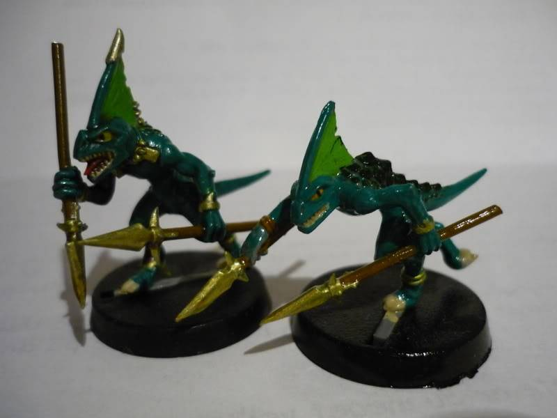 lizardmen - MyLittlePwny's Undead and Lizardmen (Pic Heavy) P1000085