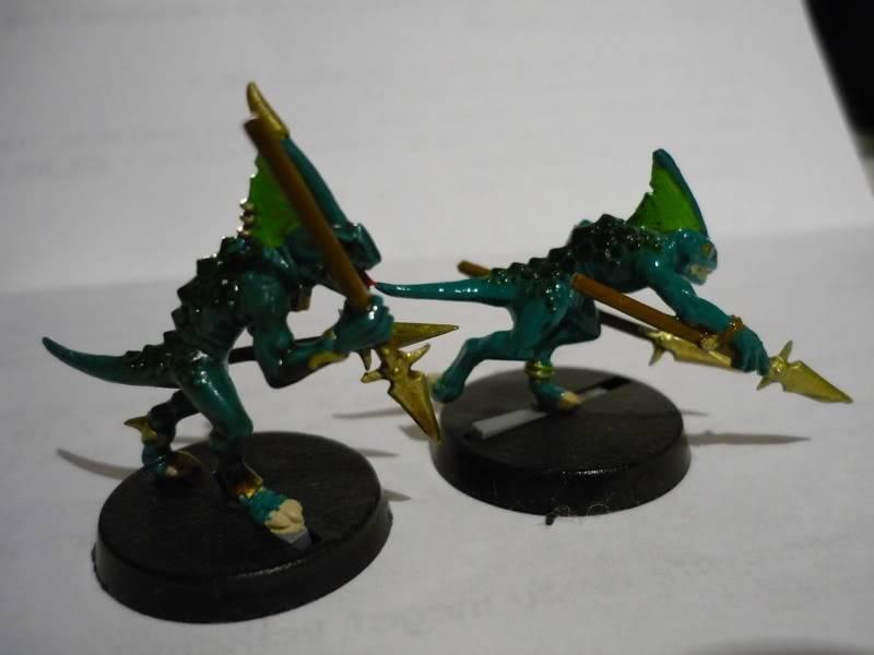 lizardmen - MyLittlePwny's Undead and Lizardmen (Pic Heavy) P1000086