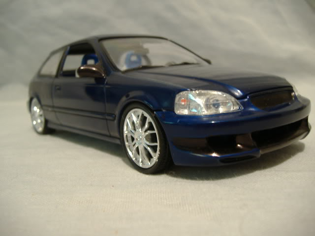 1996 Honda Civic DX - Blue Devil - Import Trio #2 DSCF3033