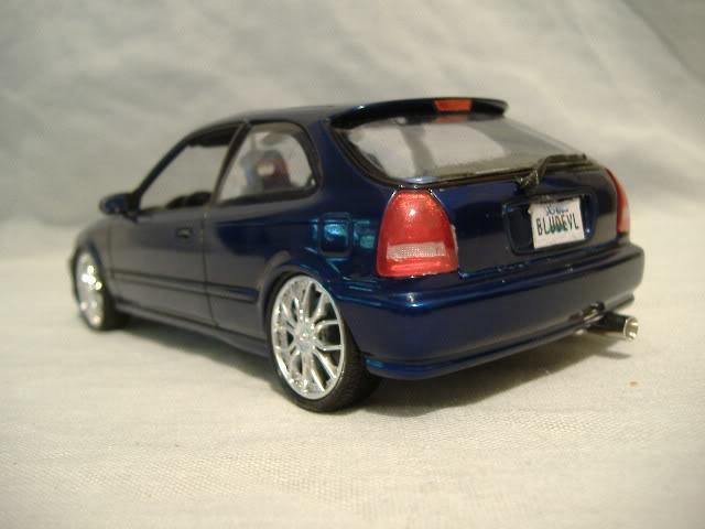 1996 Honda Civic DX - Blue Devil - Import Trio #2 DSCF3035