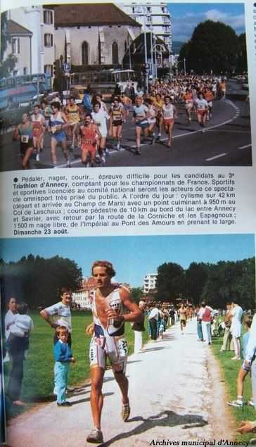 23 éme triathlon international du lac d'Annecy 1987-TriathlondAnnecy