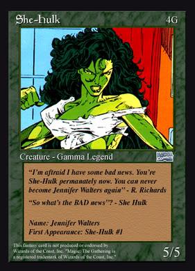 MISS HULK ( She Hulk ) She-Hulk