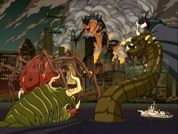 Godzilla: La serie [completa] Zilla_Battle