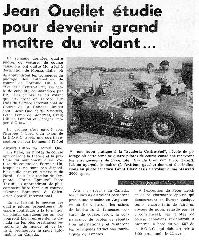 Vielles publicitées de course au Québec 001