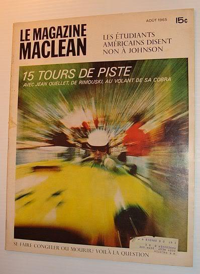 Vielles publicitées de course au Québec JeanOuellet5