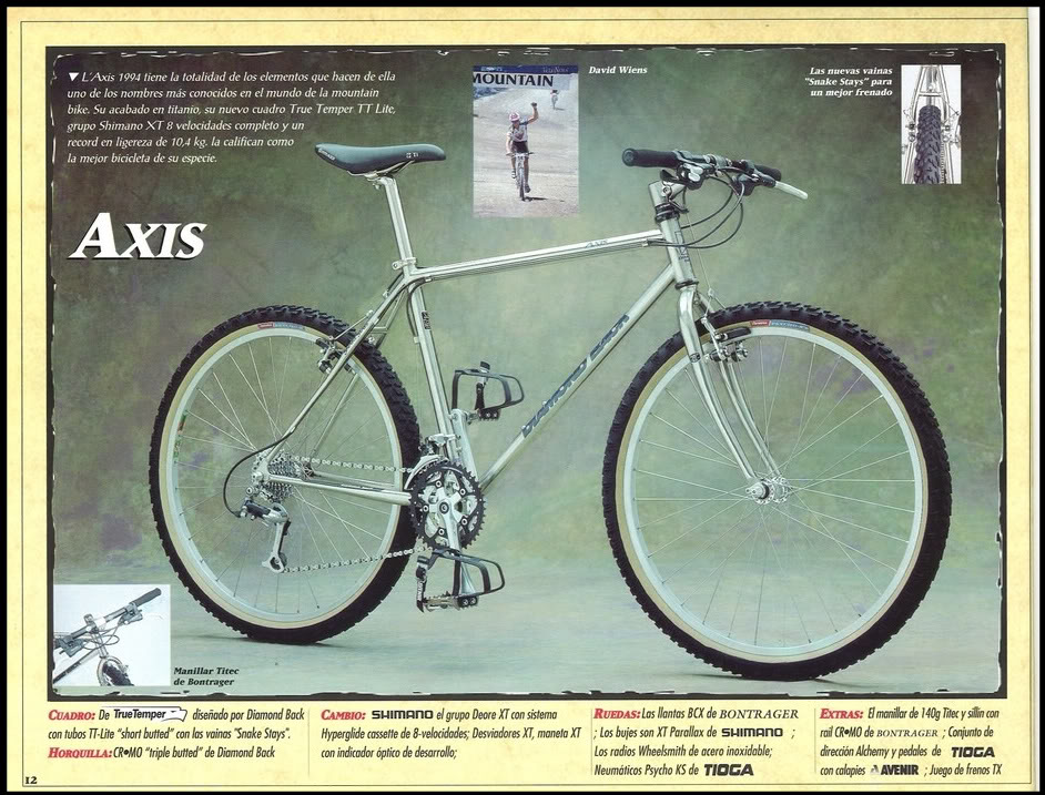 Luca vs DiamondBack Axis e Bianchi Thomisus DiamondBackAxis1994