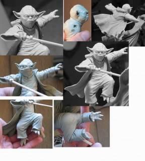 Diorama Yoda vs Count Dooku ! - Page 3 58492b03