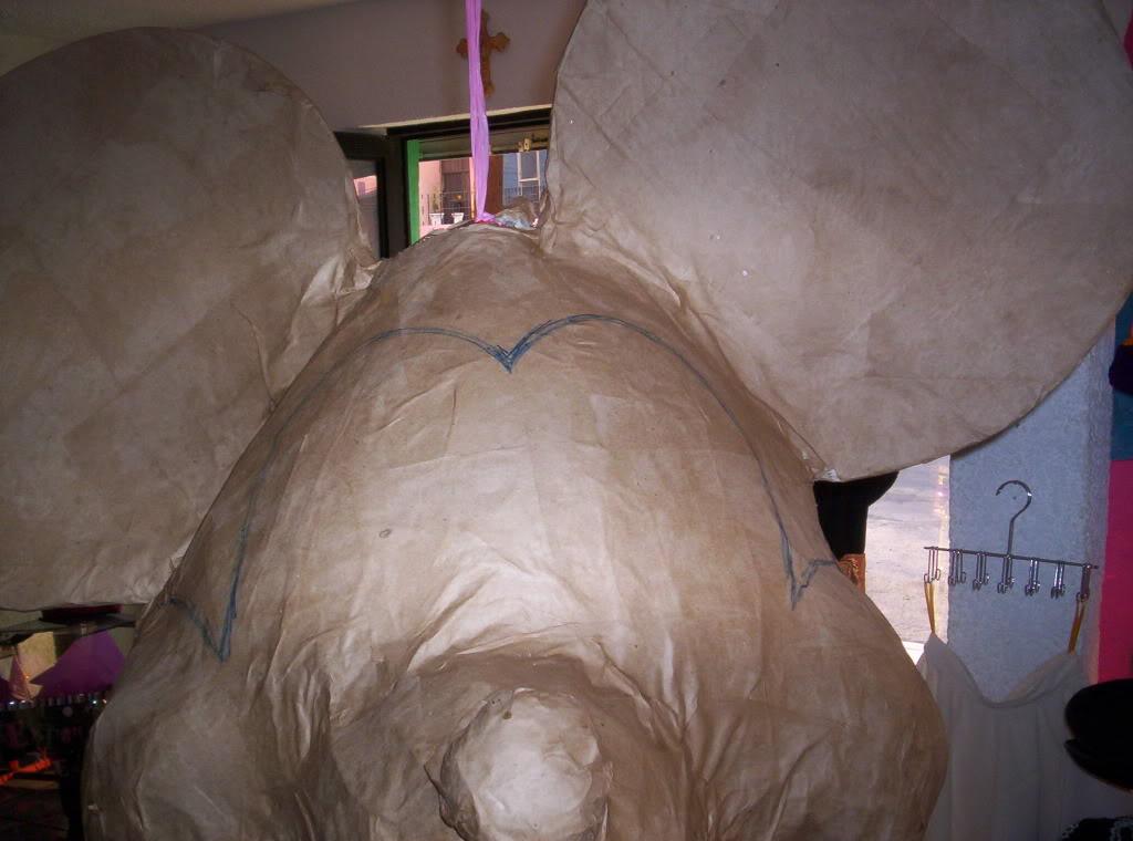 >>>>>   PIÑATAS  <<<<<  cartoneria y papel mache          ( galeria /   paso a paso ) Imagen031