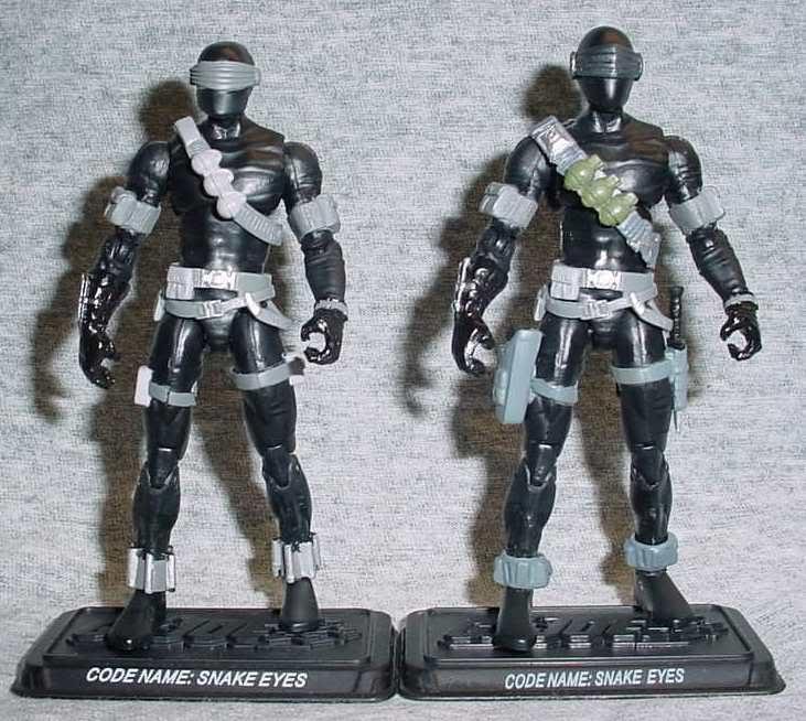 G.I. Joe Snake Eyes V2 SnakeEyesUpgraded