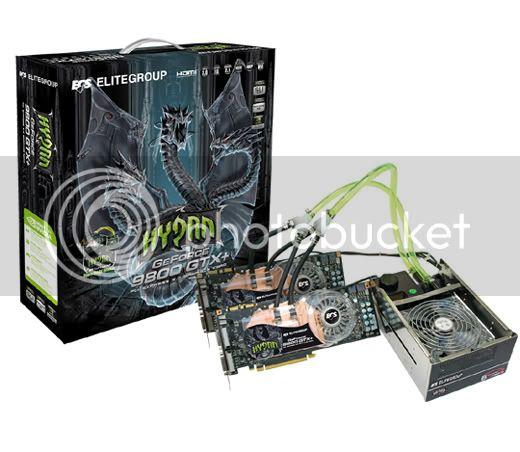 Νέα GeForce 9800 GTX+ Hydra Water-cooling από την ECS 9800GTXSli_BOX
