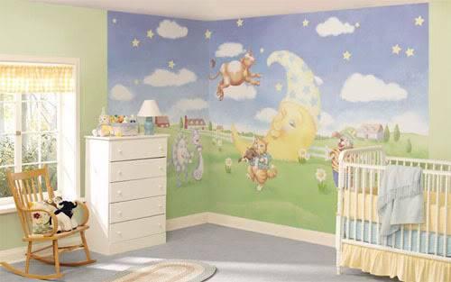 غرف أطفال روعة Nursery2