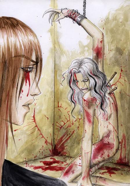 Tegninger af dukker Leechy-Didhestabyouintheback