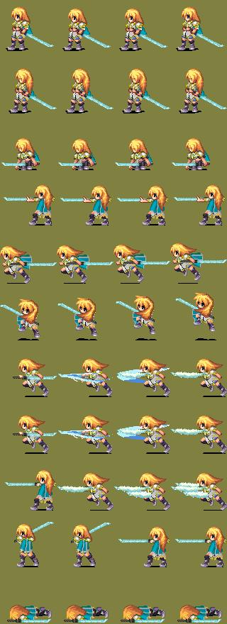 [RPG Maker XP] Battlers CBS (Mage Doll) Kasier_btl