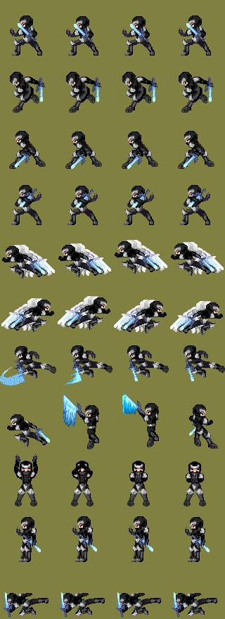 [RPG Maker XP] Battlers CBS (Mage Doll) Ninja_bTl