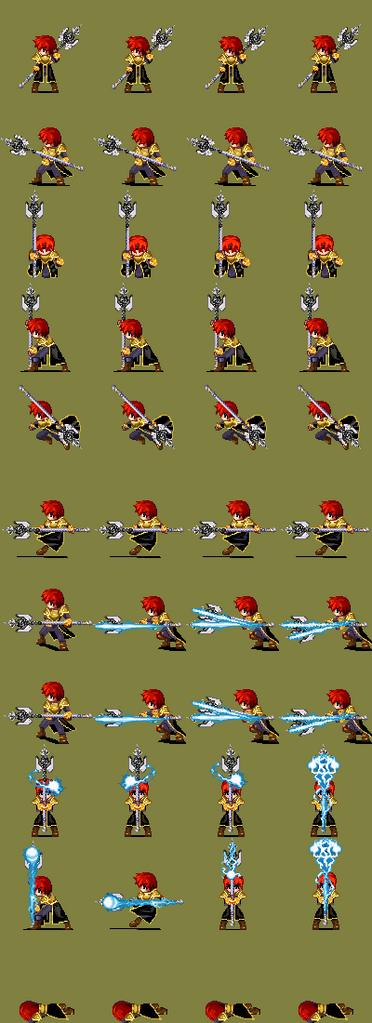 [RPG Maker XP] Battlers CBS (Mage Doll) Xenok_btl