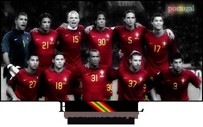 Signatures de jogadores Portugal2