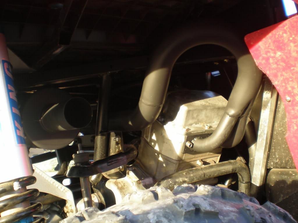 Unleashed UTV RZR Pipe TimKellyRZRCompleteExhaust001