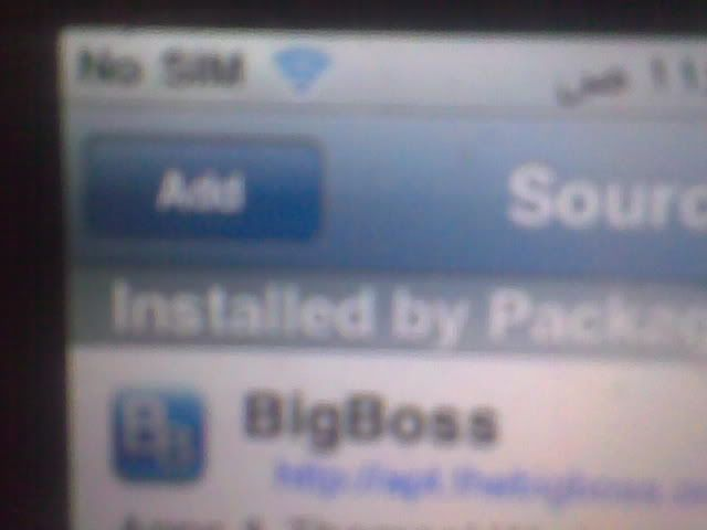 iphone 3GS successfully jailbroken and unlocked 12