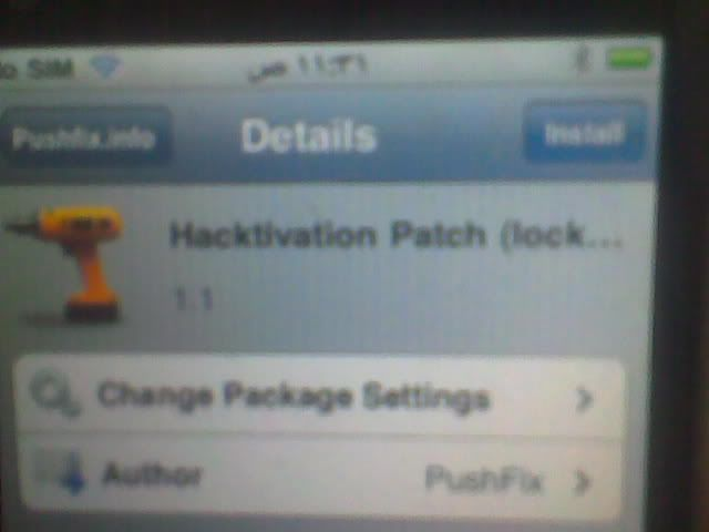 iphone 3GS successfully jailbroken and unlocked 18