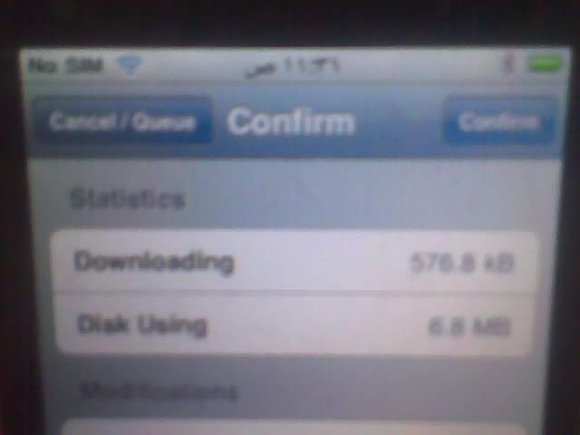iphone 3GS successfully jailbroken and unlocked 19