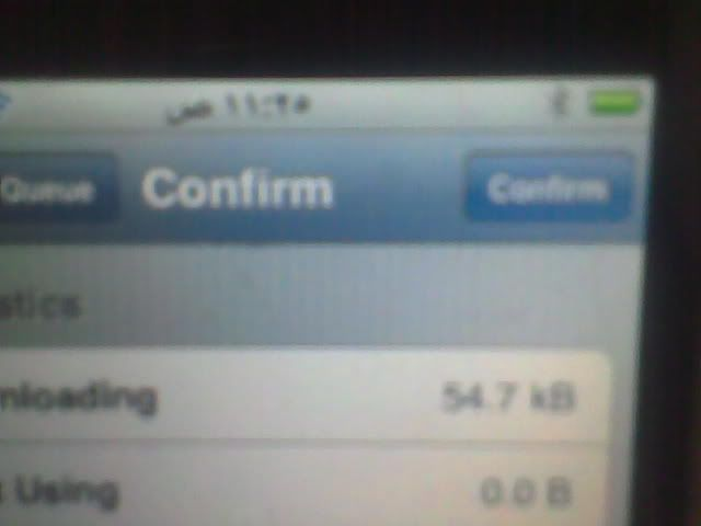 iphone 3GS successfully jailbroken and unlocked 9-6
