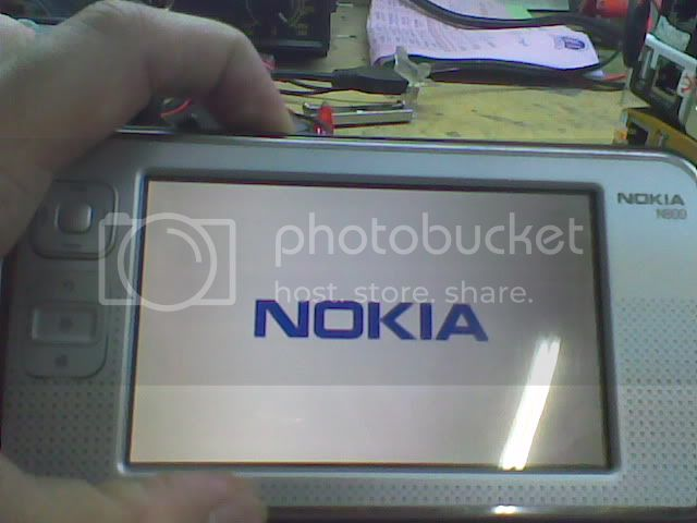 Nokia N800 nokia only successfully updated in NITSUW Nokiaonlyautooff