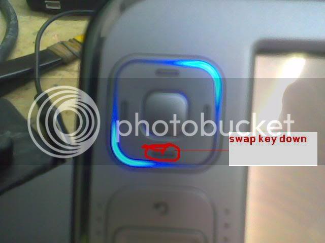 Nokia N800 nokia only successfully updated in NITSUW Swapkeydown