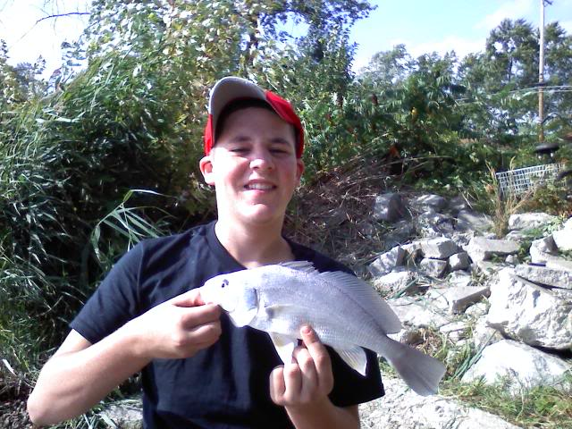 A little Rough fishin on the Portage, catfish carp, and drum 0927091539