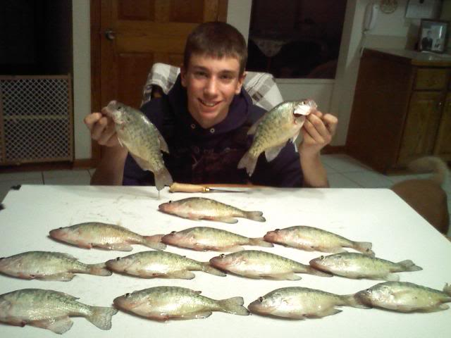 Found some crappie!!! ICE is on! 1230091933