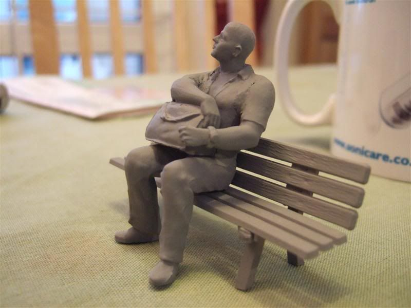 Another Quick Figure... a seated passenger Punter_with_holdall_1