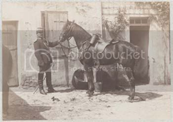 A Mounted Gendarme, from c1910 Gendrame-f5d1d
