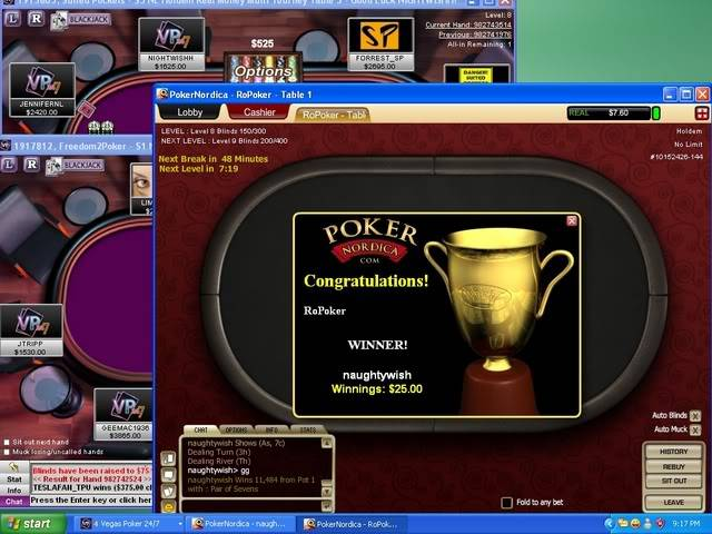Victory at PokerHOst Nordica-1