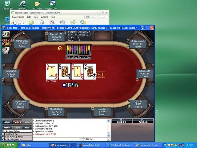 This almost got away from me Pokerhost