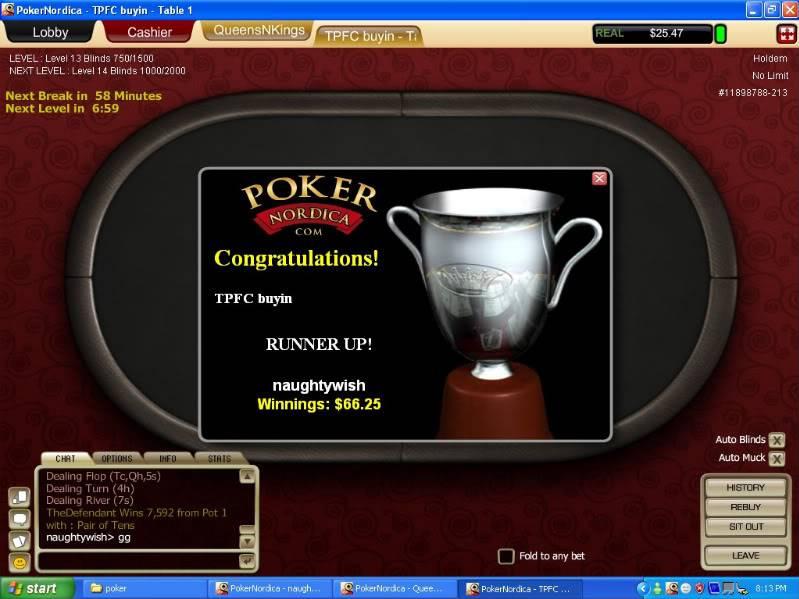 TPFC buyin game at Poker Nordica Tpfcbuyin-1